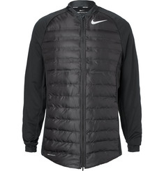 Nike Golf - Aeroloft Hyperadapt Stretch-Knit and Quilted Shell Golf Jacket