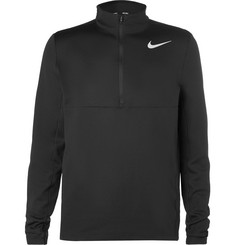 Nike Golf - Aeroreact Slim-Fit Stretch-Knit Half-Zip Golf Top