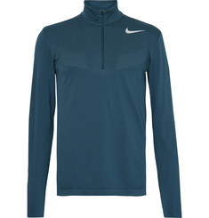 Nike Golf Panelled Dri-FIT Mesh Half-Zip Golf Top