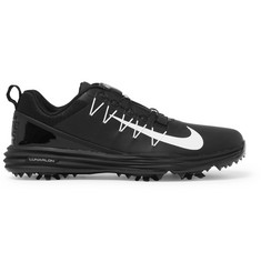 Nike Golf - Lunar Command 2 Boa Rubber-Trimmed Mesh Golf Shoes