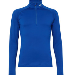 Kjus Second Skin Half-Zip Stretch-Jersey Ski Top