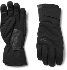 Kjus Formula Leather-Trimmed Shell Ski Gloves