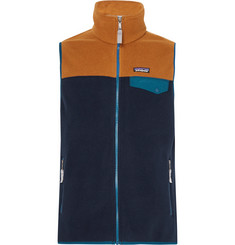 Patagonia Snap-T Colour-Block Synchilla Fleece Gilet