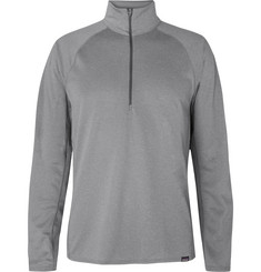 Patagonia Capilene Polartec Power Grid Half-Zip Sweater