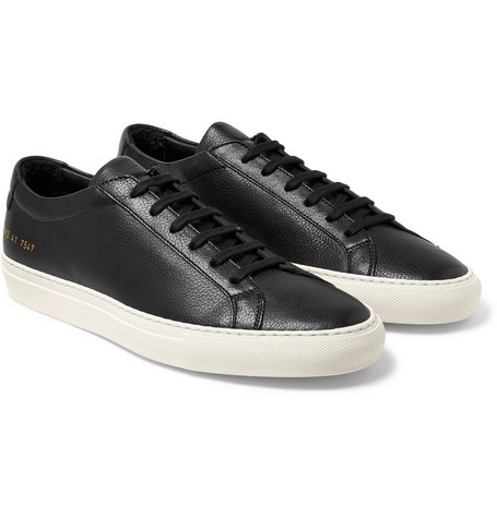 Original Achilles Full-grain Leather Sneakers - Black