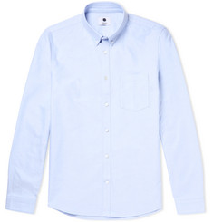 NN07 - Sixten Slim-Fit Button-Down Collar Cotton Oxford Shirt