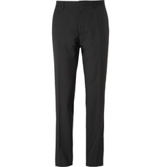 Burberry Black Virgin Wool Trousers