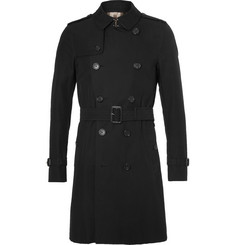 Burberry Slim-Fit Cotton-Gabardine Trench Coat