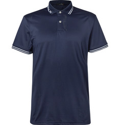 RLX Ralph Lauren - Luke Donald Perforated Stretch-Jersey Polo Shirt