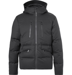 Sail Racing Race Quilted Waterproof Wool-Canvas Down Jacket