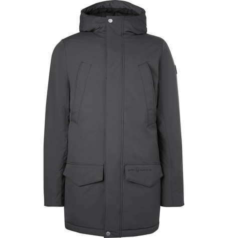 2fa0db52a2064 Sail Racing Arctic Thermolite-Padded Shell Hooded Parka In Dark Gray
