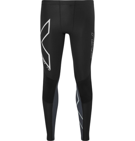 2Xu G2 Wind Defence Compression Tights In Black