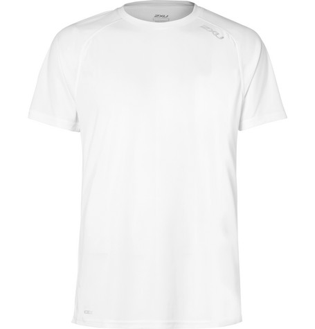 2Xu X-Vent Mesh T-Shirt In White