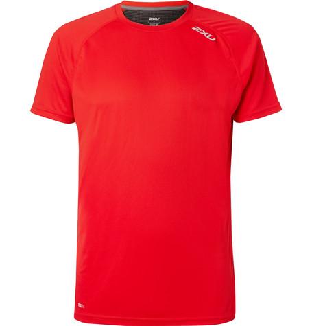 2Xu X-Vent Mesh T-Shirt In Red