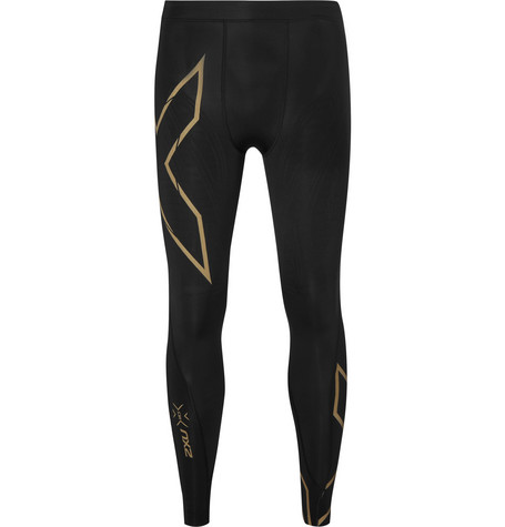 2Xu Elite Mcs Compression Tights In Black