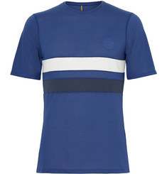 Iffley Road Cambrian Slim-Fit Striped Drirelease T-Shirt