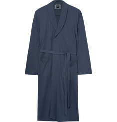 Hanro Night and Day Davide Brushed-Cotton Robe