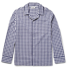Sleepy Jones - Henry Gingham Cotton Pyjama Shirt