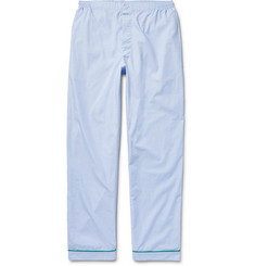 Sleepy Jones - Marcel End-On-End Cotton Pyjama Trousers