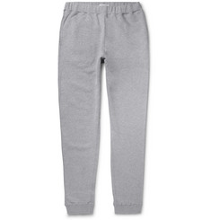 Sunspel - Tapered Brushed Loopback Cotton-Jersey Sweatpants