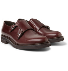 Brunello Cucinelli - Leather Monk-Strap Shoes