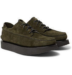 Yuketen - Maine Guide Ox Rocker Rough-Out Leather Shoes