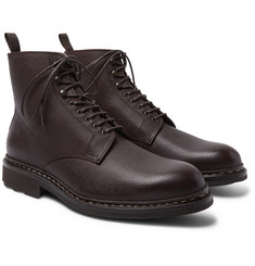 Heschung - Hetre Shearling-Lined Leather Boots