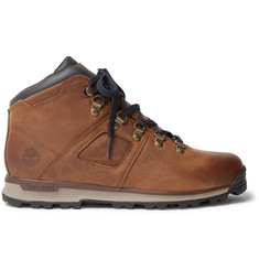 Timberland GT Scramble Waterproof Burnished-Leather Boots
