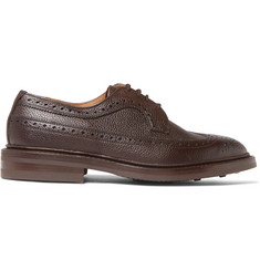 Tricker's Fulton Full-Grain Leather Wingtip Brogues