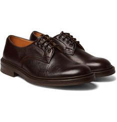 Tricker's - Daniel Creased-Leather Derby Shoes