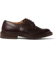 Tricker's Daniel Creased-Leather Derby Shoes