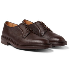 Tricker's - Fenwick Pebble-Grain Leather Derby Shoes