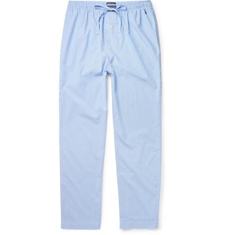 Polo Ralph Lauren – Gingham Cotton Pyjama Trousers – Blue