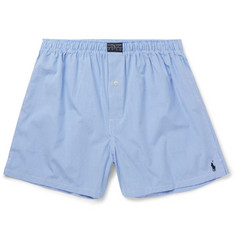 Polo Ralph Lauren Gingham Cotton Boxer Shorts