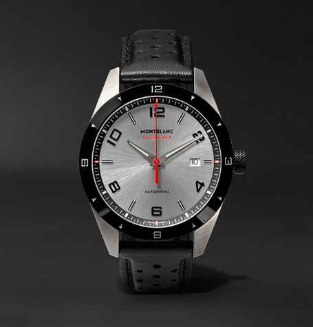 Timewalker Date Automatic 41mm Stainless Steel, Ceramic And Rubber Watch - Black
