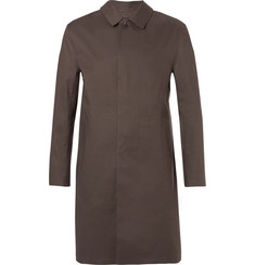 Kingsman + Mackintosh Bonded-Cotton Raincoat