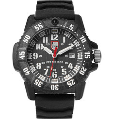 Luminox - 3800 Series 3801 Carbon-Reinforced and Rubber Watch