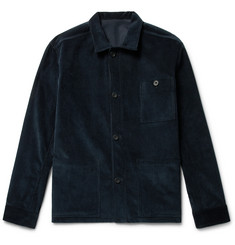 Anderson & Sheppard Cotton-Corduroy Shirt Jacket