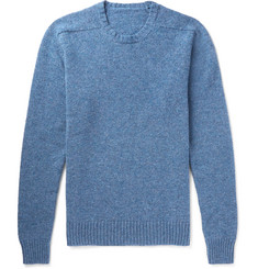Anderson & Sheppard - Mélange Wool Sweater