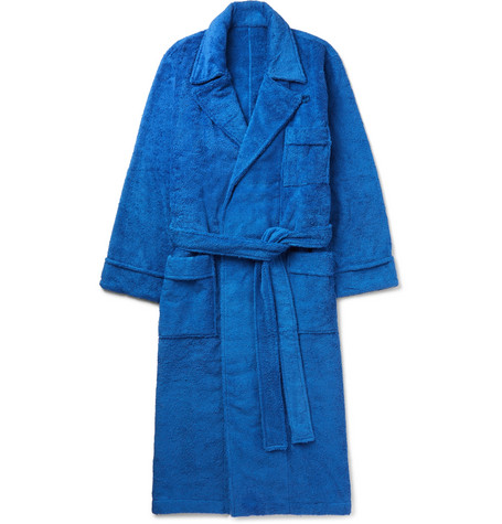 Cotton-Terry Robe