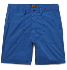 Beams Plus Baker Slim-Fit Canvas Shorts