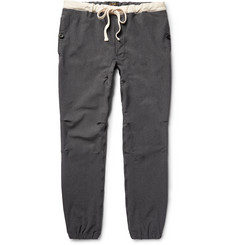 Beams Plus Slim-Fit Stretch-Nylon Twill Drawstring Trousers