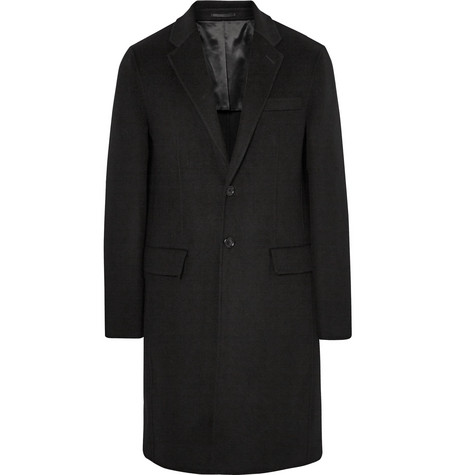 Covernsham Slim-fit Wool And Cashmere-blend Coat - Black