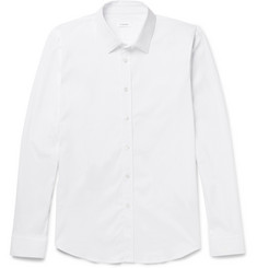 Jil Sander Slim-Fit Stretch Cotton-Blend Poplin Shirt