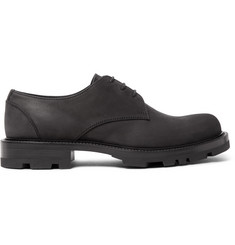 Jil Sander Nubuck Derby Shoes