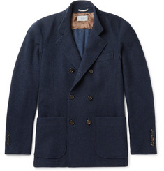 Brunello Cucinelli Double-Breasted Cashmere Jacket
