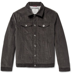 Brunello Cucinelli Padded Cotton-Corduroy Jacket