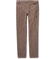 Brunello Cucinelli - Stretch-Cotton Corduroy Trousers