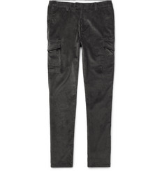 Brunello Cucinelli Cotton-Corduroy Cargo Trousers