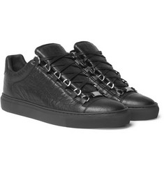 Balenciaga - Arena Creased-Leather Sneakers